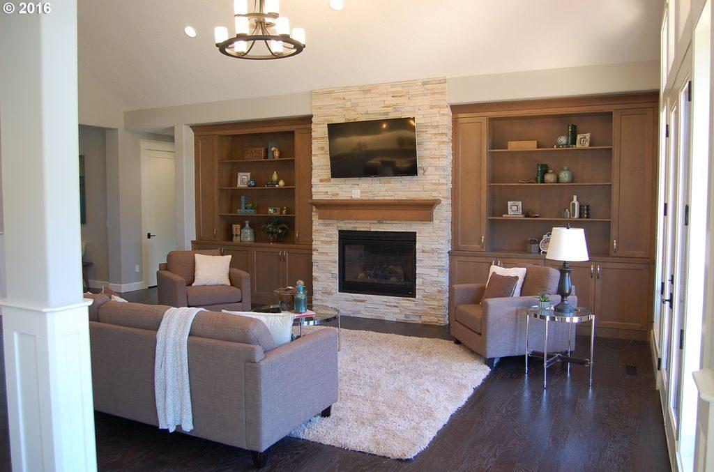 Modern living room remodel