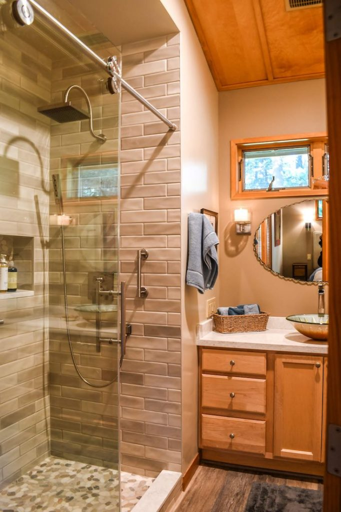 newly remodeled bathroom in portland