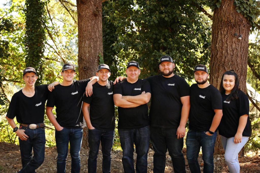 group photo of Kamanski staff