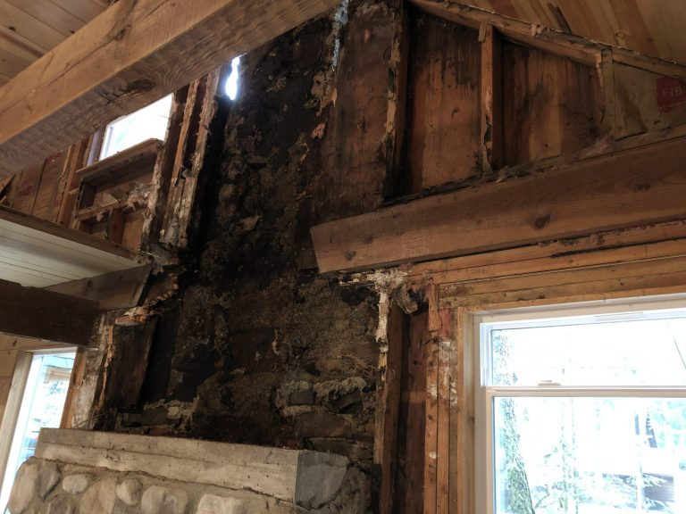 dry rot in a home